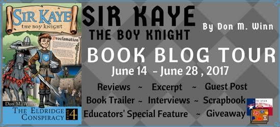 THE ELDRIDGE CONSPIRACY (Sir Kaye the Boy Knight, Book 4) by Don M. Winn