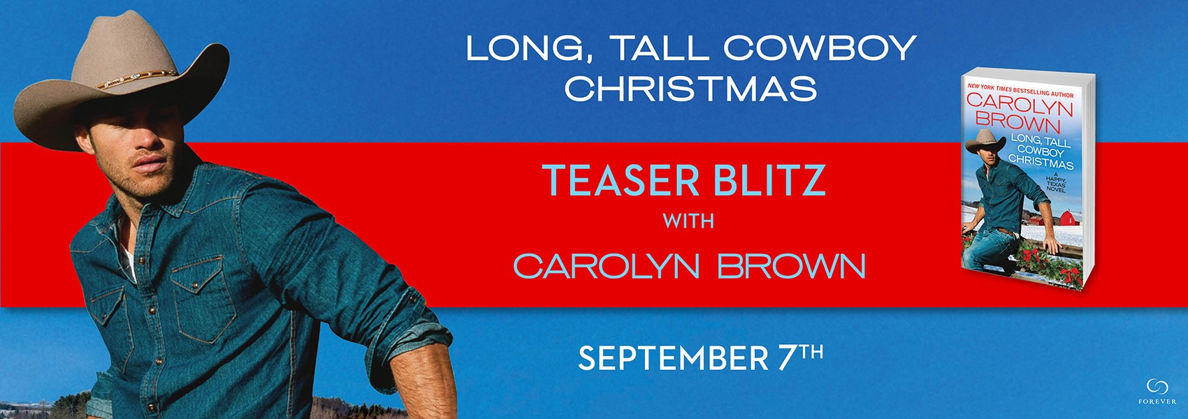 Long, Tall Cowboy Christmas by Caroline Brown