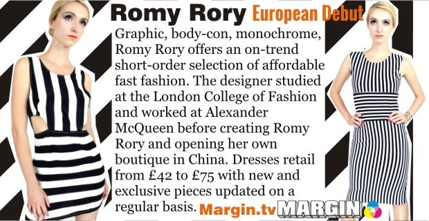 previews AUG 2013 romy rory margin london