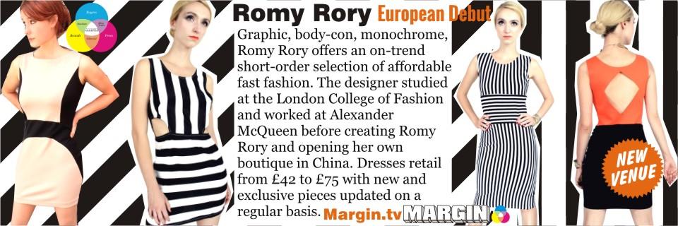 previews AUG 2013 romy rory margin london