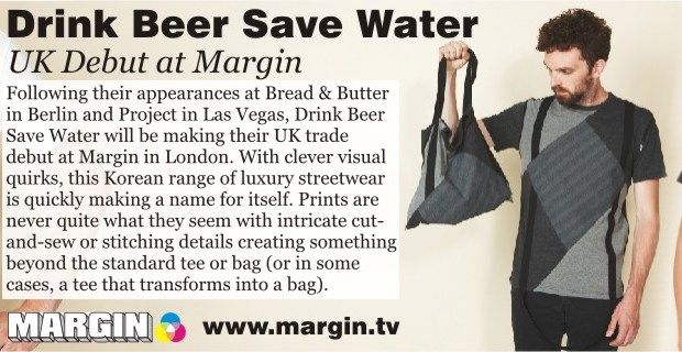 Drink Beer Save Water at Margin London February 2013