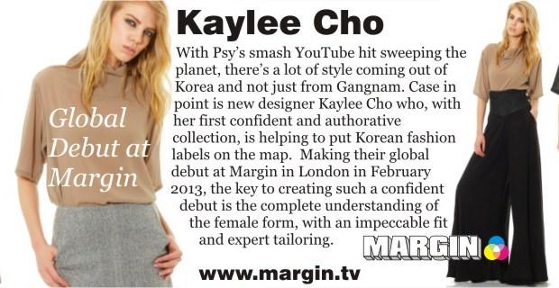 Kaylee Cho at Margin London February 2013