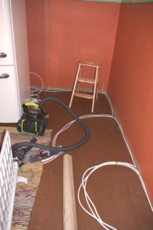 Stromkabel für die Küchenzeile