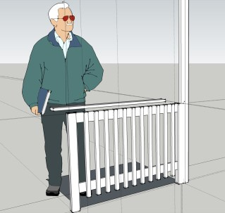 Das Modell in SketchUp