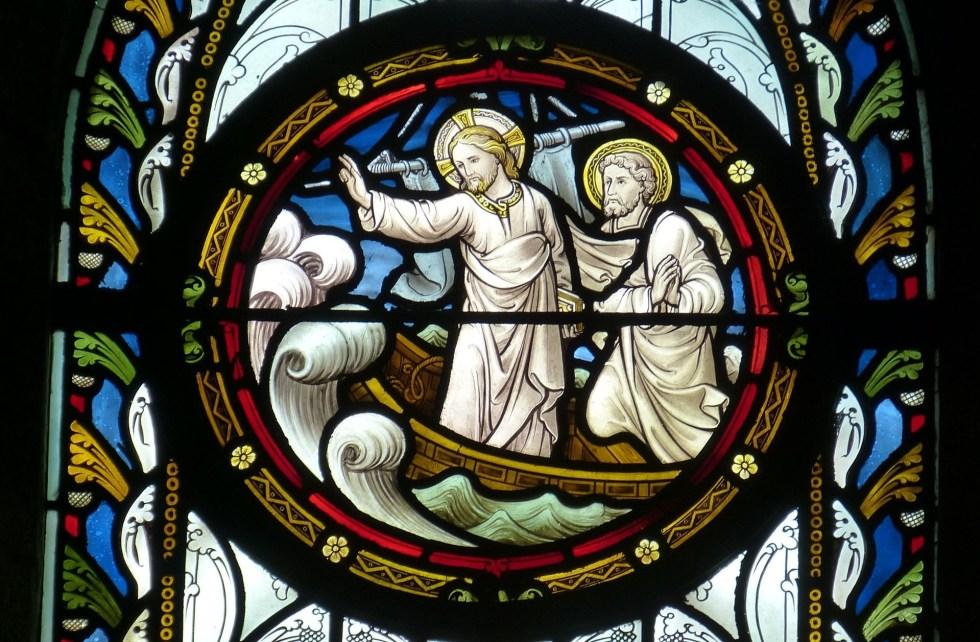 Jesus calms the storm pexels, son of man, John's Gospel