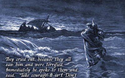 Jesus Walks on Water – John 6:14-21