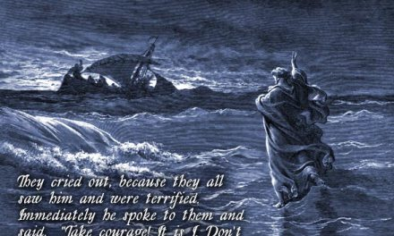 Jesus Walks on Water – John 6:14-21