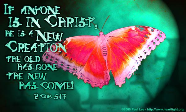 In Christ, every day is a new day