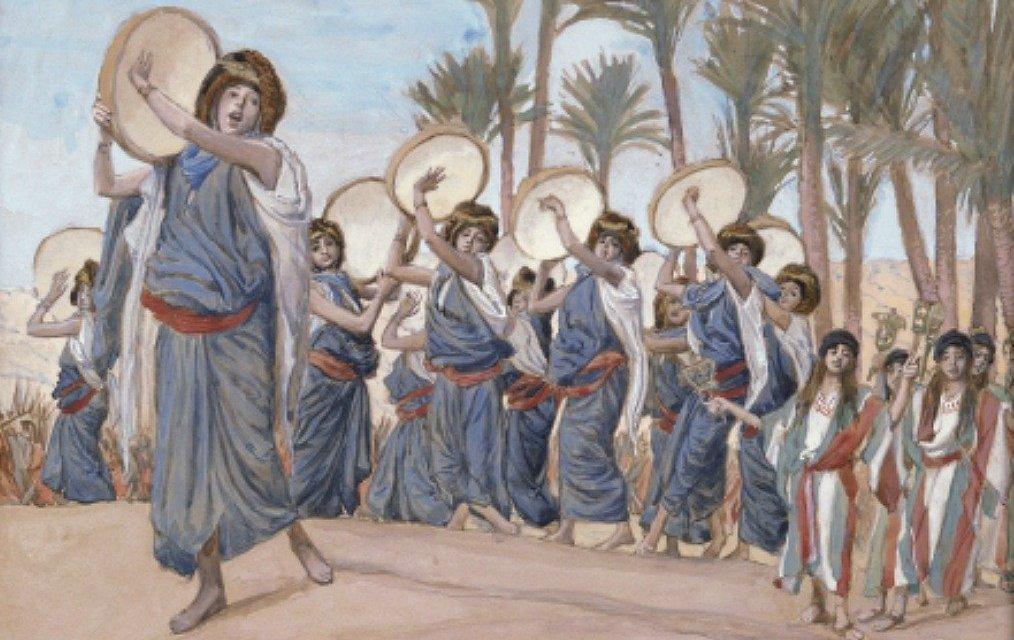 Bible Women who Led Celebrations & Lamentations