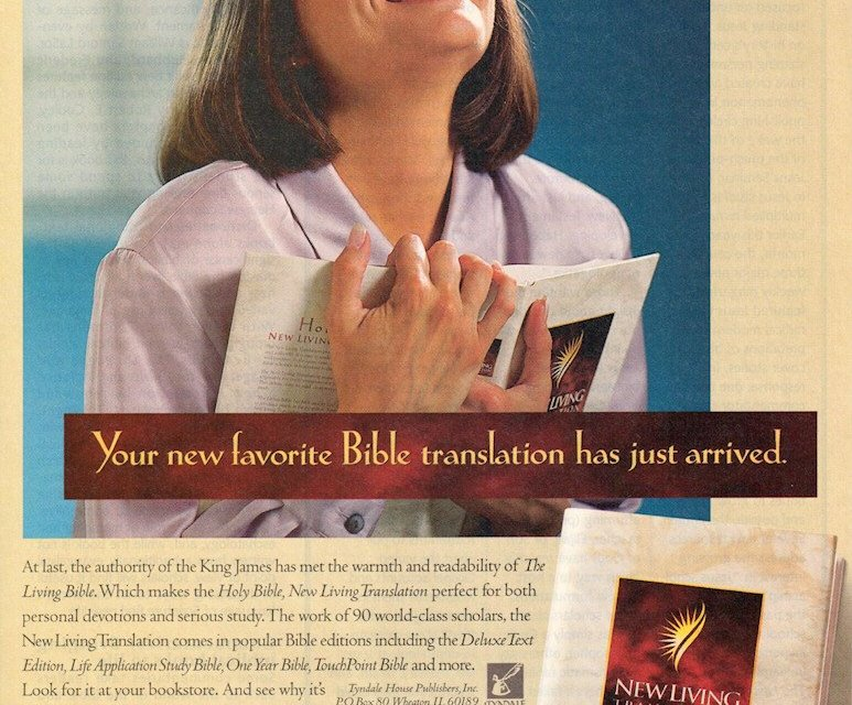 Gender Bias in the New Living Translation (NLT)