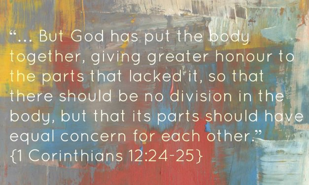 Equality and Unity in Ministry: 1 Corinthians 12