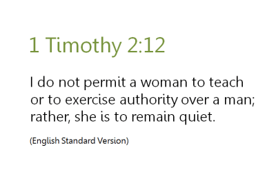 The Consensus and Context of 1 Timothy 2:12