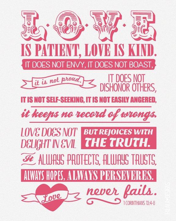 1 Peter 4:7-11  Love