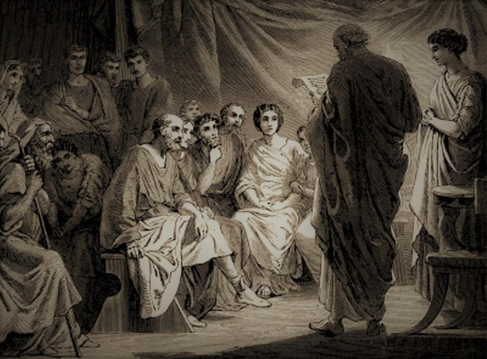 First century church meeting