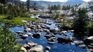 San Joaquin River headwaters, California