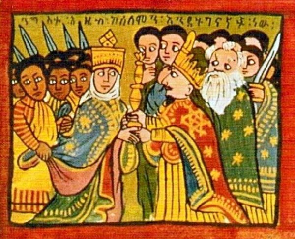 The queen of the South, queen of Sheba, female rulers in the Bible