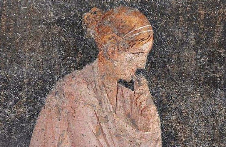 First century Roman woman, Stabiae