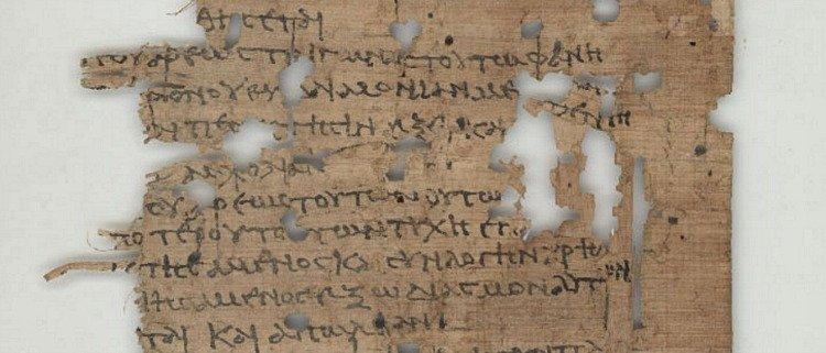 Papyrus Tebtunis 276, lines 25-34