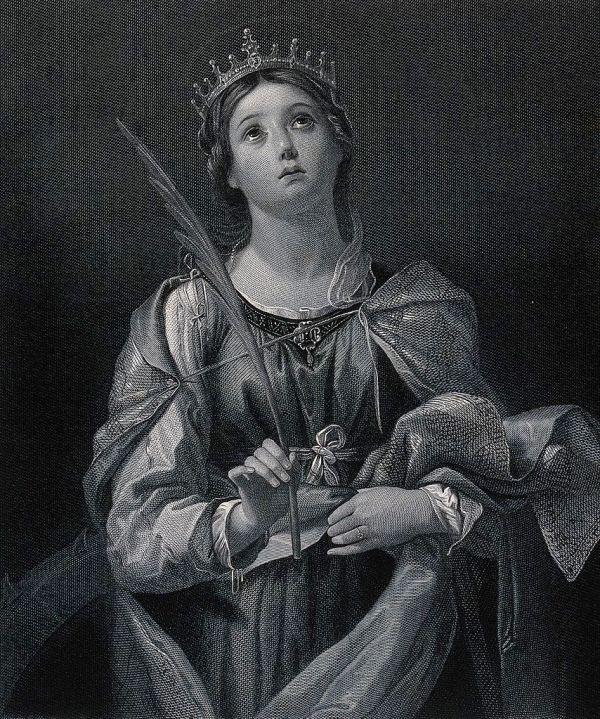 Saint Catherine of Alexandria Hypatia Thecla Judith