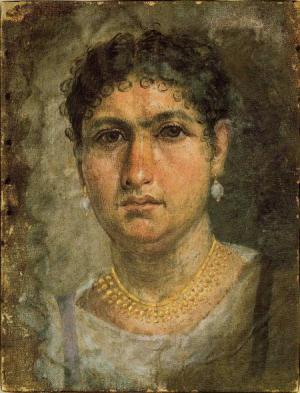 1 Corinthians 11, Roman Egyptian woman, Fayum mummy