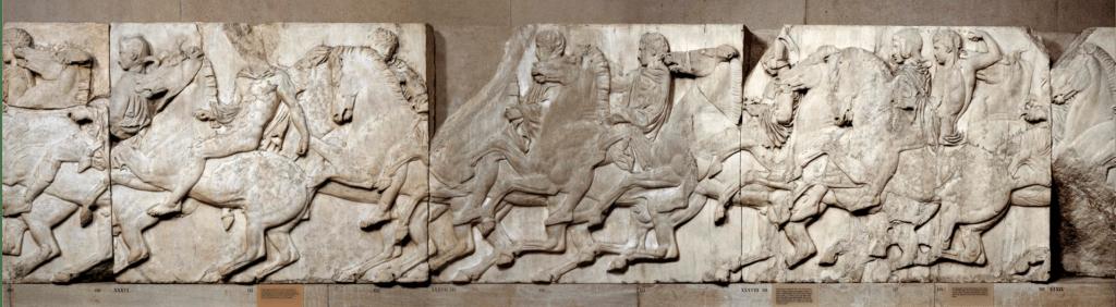 praus gentle meek war horses