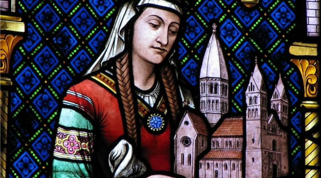Hildegard of Bingen St. Foy Church in Sélestat, France. making biblical womanhood