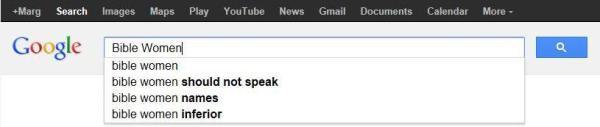 """Googling """"Bible Women"""""""