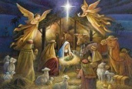 Jesus born in a stable, manger, cave, phatne, kataluma