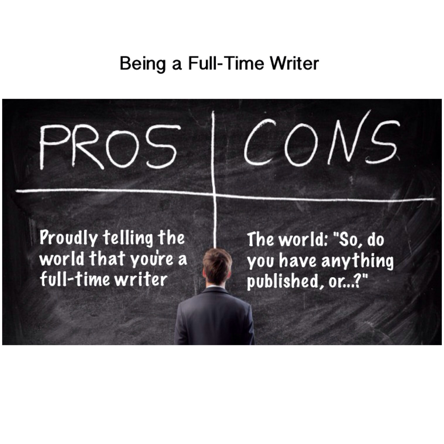 Pros And Cons Of Being A Full Time Writer