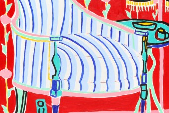 Rose Wallpaper Chair, 1988