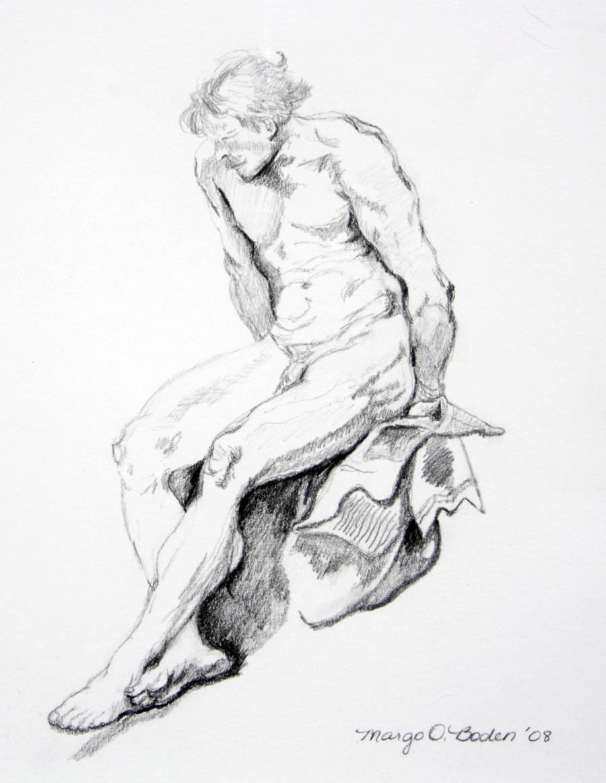 Male Nude, 2008
