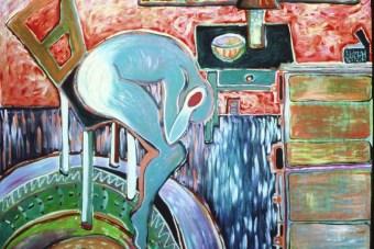 Self Portrait, Overwhelmed, 1986