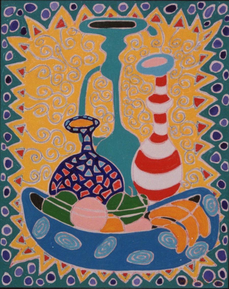 Bowl of Fruit, 1991