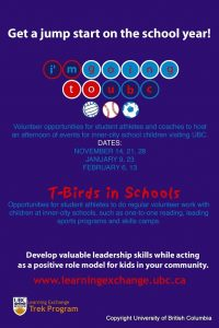 T-birds in schools