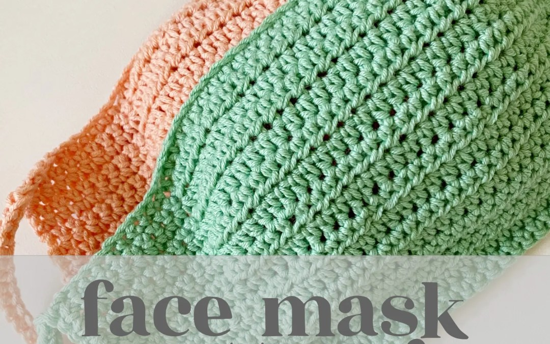 Free Crochet Face Mask Pattern