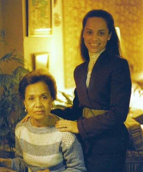 Margaret & Margo Williams 1982