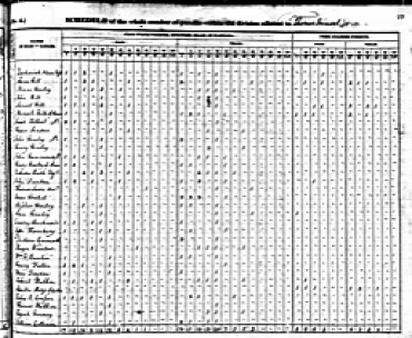 1840 census James Walker