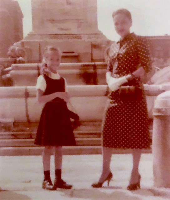 Mommy and me in Buffalo 1957