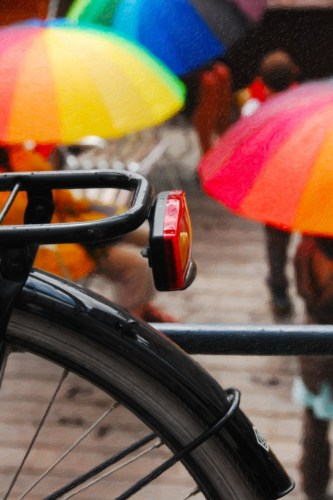 """Bike, Rain, Belgium"" Margo Millure (www.margomillurephotography.com)"