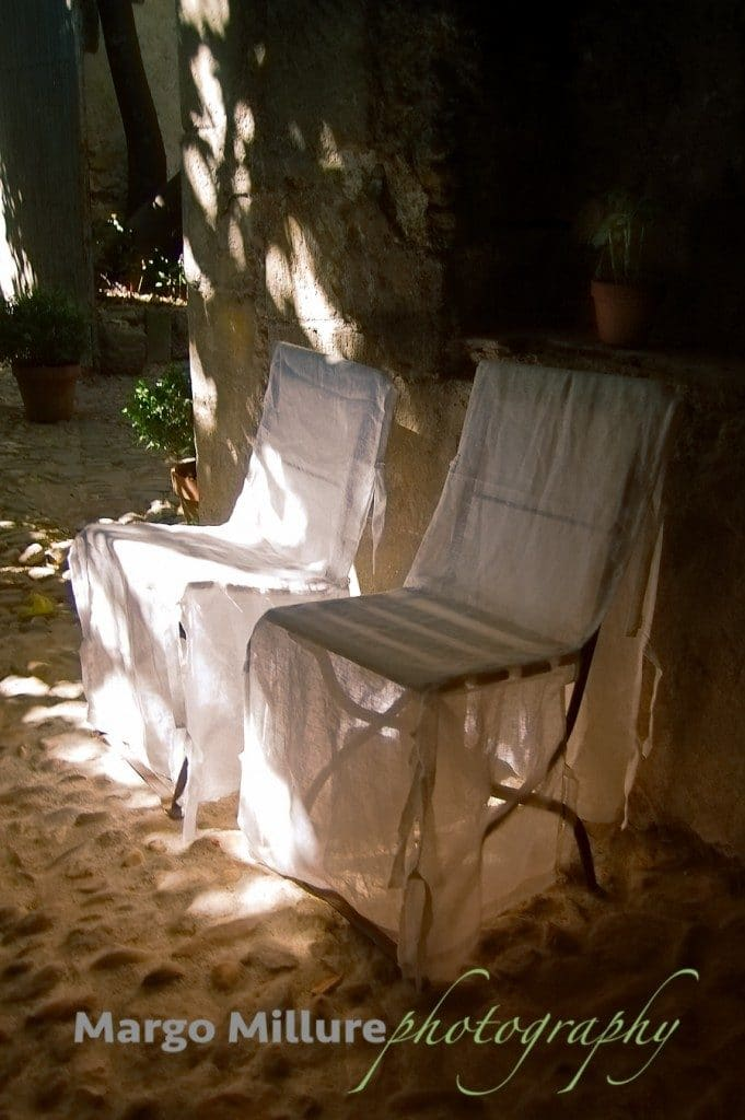 provence fine art photo of chairs