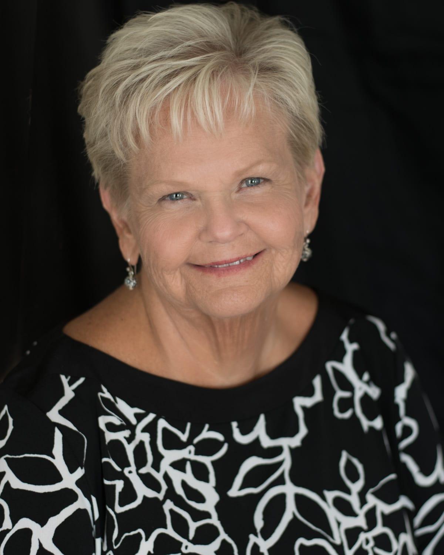 Headshot of older woman
