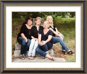 Mother daughters photography