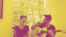 "Margo Rey sings ""Sabor A Mi"" with guitarist Dimitri Mahlis"