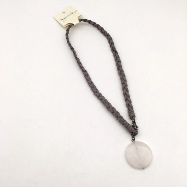 Leather Necklace by Kate Harness