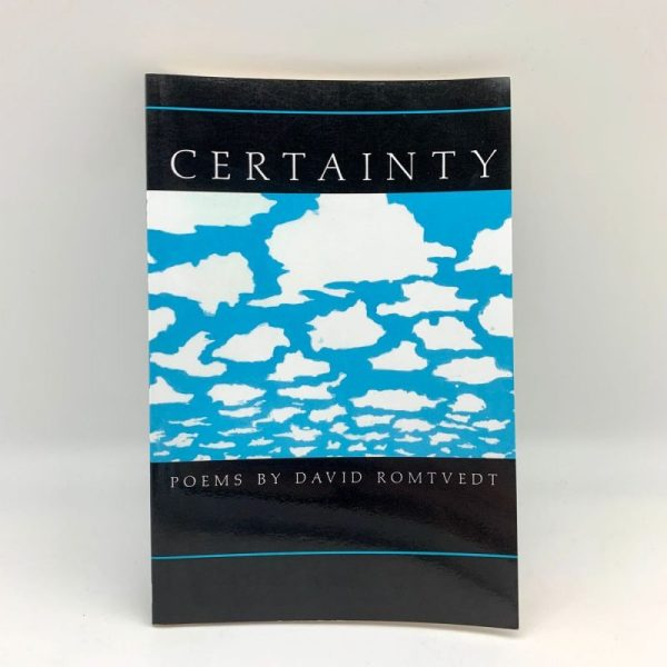 Certainty by David Romtvedt collected poems book