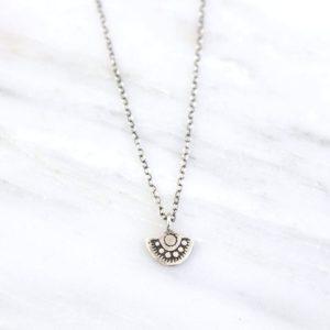 Wanderer Mini Pendant Necklace Sarah Deangelo