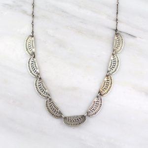 Asmi 9 Collar Mixed Necklace Sarah Deangelo