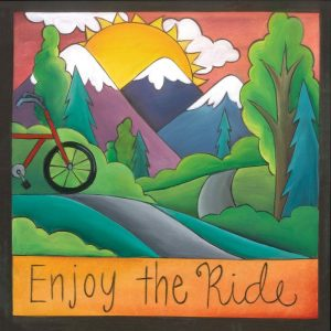 """Open Road 6"""" Plaque by Sincerely Sticks"""