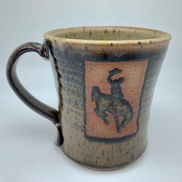 Speckled Steamboat Mug by Stephen Mullins