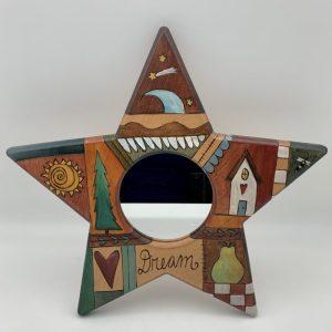 """Dream"" Star Mirror by Sticks"